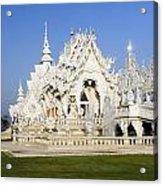 Wat Rong Khun Acrylic Print
