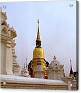 Wat Suan Dok Royal Cemetery  Acrylic Print