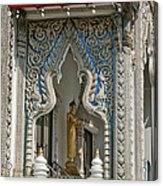 Wat Suan Phlu Ubosot East Portico Dthb1133 Acrylic Print