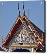 Wat Thewarat Kunchorn Gable Dthb286 Acrylic Print