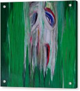 Watcher In The Green  Totem Series  Acrylic Print