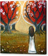 Watching The Trees Acrylic Print