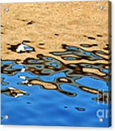 Water Art Acrylic Print by Kaye Menner