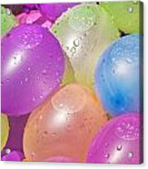 Water Balloons Acrylic Print by Patrick M Lynch