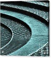 Water Feature - Aqua  Acrylic Print
