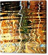 Water Glass Acrylic Print