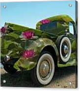 Water Lily Truck Acrylic Print