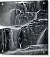 Water Over Wahconah Falls  Acrylic Print