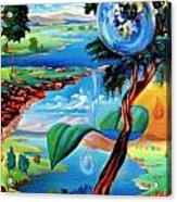 Water Planet Acrylic Print