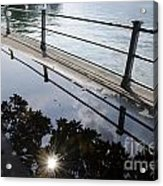 Water Puddle Acrylic Print