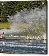 Water Skiing 4 Acrylic Print