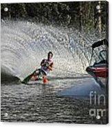 Water Skiing 8 Acrylic Print