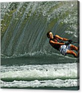 Water Skiing Magic Of Water 1 Acrylic Print
