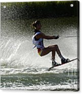 Water Skiing Magic Of Water 16 Acrylic Print