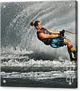 Water Skiing Magic Of Water 23 Acrylic Print