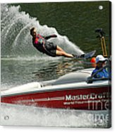 Water Skiing Magic Of Water 26 Acrylic Print