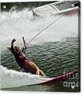 Water Skiing Magic Of Water 28 Acrylic Print