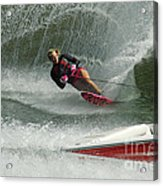Water Skiing Magic Of Water 29 Acrylic Print