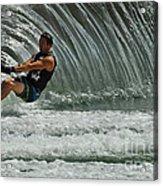 Water Skiing Magic Of Water 3 Acrylic Print