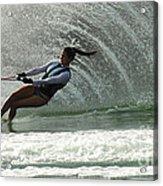 Water Skiing Magic Of Water 32 Acrylic Print