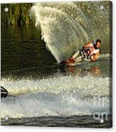 Water Skiing Magic Of Water 33 Acrylic Print