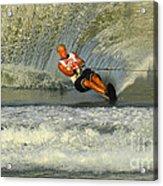 Water Skiing Magic Of Water 4 Acrylic Print