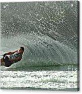Water Skiing Magic Of Water 7 Acrylic Print