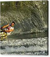 Water Skiing Magic Of Water 8 Acrylic Print