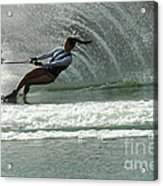 Water Skiing Magic Of Water 9 Acrylic Print