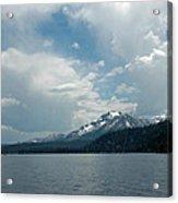 Water Snow Vapor Lake Tahoe Acrylic Print