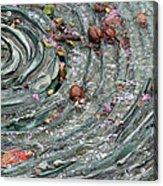Water Spiral  Acrylic Print