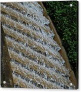 Water Steps 1 Acrylic Print