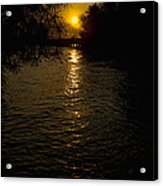 Water-sunset Acrylic Print