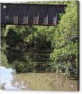 Water Under A Bridge Acrylic Print