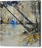 Watercolor 119080 Acrylic Print