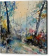 Watercolor 213020 Acrylic Print