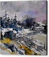 Watercolor 217021 Acrylic Print