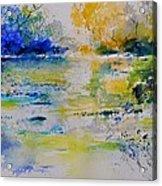 Watercolor 217082 Acrylic Print