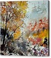 Watercolor 218022 Acrylic Print