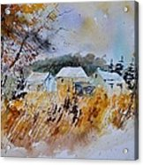 Watercolor 219003 Acrylic Print