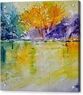 Watercolor 219041 Acrylic Print