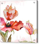 Watercolor Background Acrylic Print