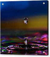 Waterdrop Acrylic Print