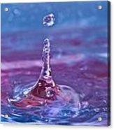 Waterdrop11 Acrylic Print