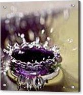Waterdrop12 Acrylic Print
