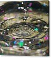 Waterdrop14 Acrylic Print