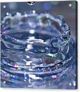 Waterdrop15 Acrylic Print