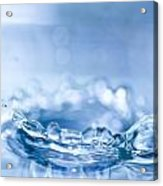 Waterdrop3 Acrylic Print