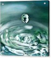 Waterdrop4 Acrylic Print