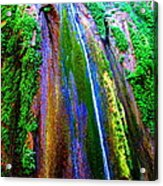 Waterfall  Acrylic Print by Catherine Natalia  Roche